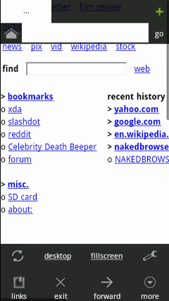 naked browser Android